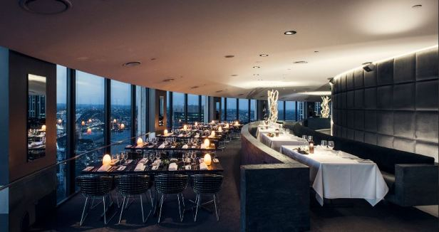 The O bar & Restaurant Level 47
