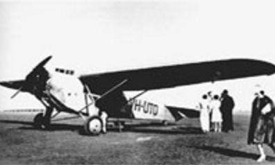 Ansetts First Aircraft A Fokker Universal