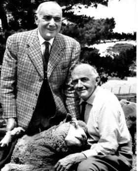 Frank & John Livingston, (Franks in the jacket) c1964